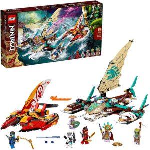 Lego Ninjago Battaglia in mare dei catamarani