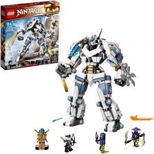 Lego Ninjago Mech Titano da battaglia di Zane