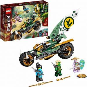 Lego Ninjago Moto della giungla di Lloyd
