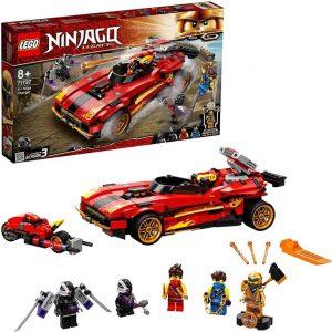 Lego Ninjago Super-bolide Ninja X-1