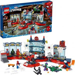 Lego Super Heroes Attacco al covo del ragno