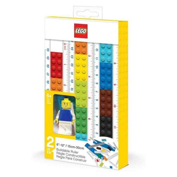 Lego set Righello Costruibile + Minifigure