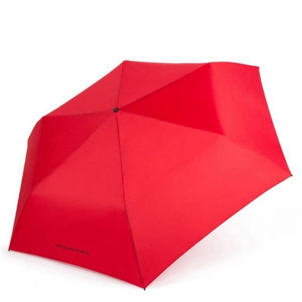Ombrello Piquadro automatico open/close antivento rosso