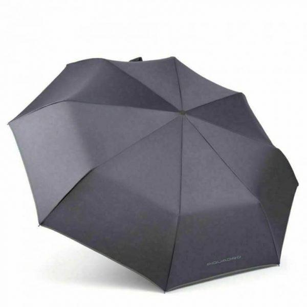 Ombrello Piquadro automatico open/close grigio