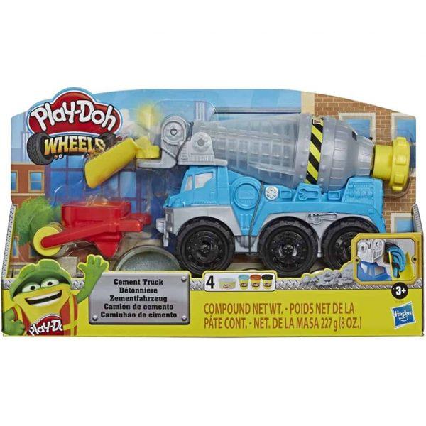 Play-Doh Autocarro Betoniera playset con Pasta da Modellare Cemento