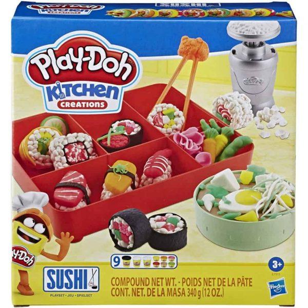 Play-Doh Sushi