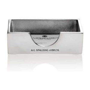 Porta Biglietti da Visita A.G. Spalding in alluminio