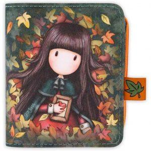 Portamonete piccolo Gorjuss Autumn Leaves