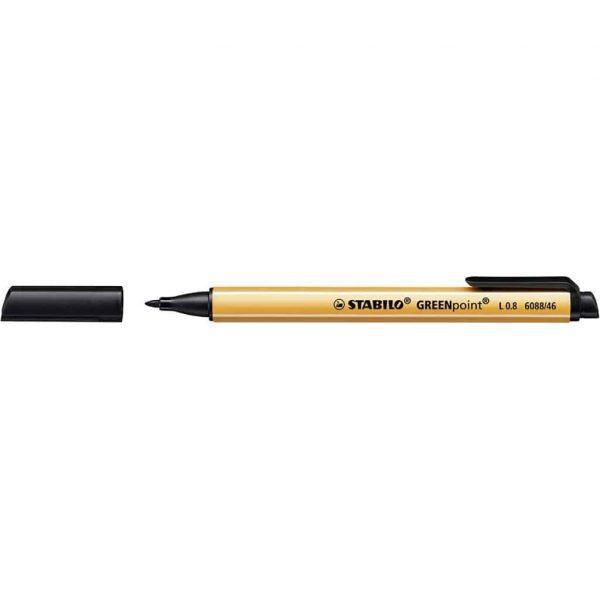 Stabilo GREENpoint penna tecnica Nera