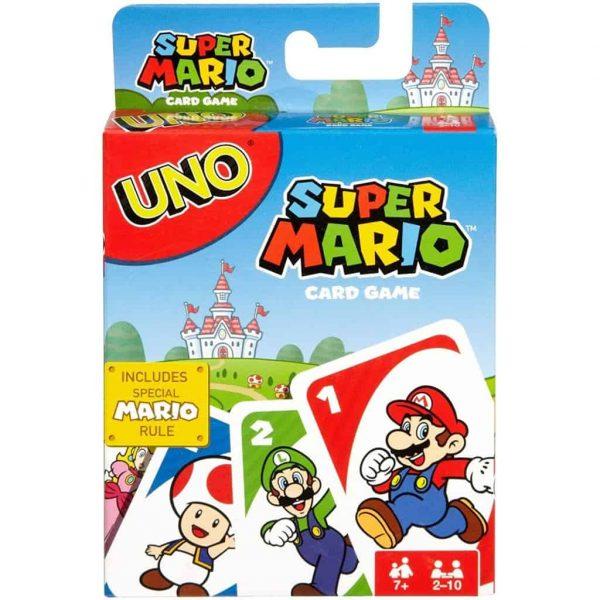 UNO Carte Super Mario di Mattel
