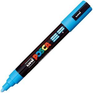 Uni Posca marcatore a tempera 1.8-2.5mm azzurro