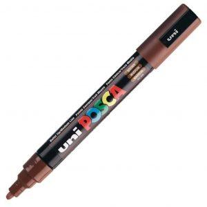 Uni Posca marcatore a tempera 1.8-2.5mm marrone