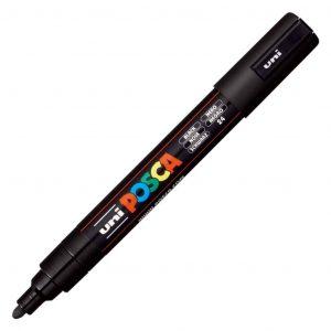 Uni Posca marcatore a tempera 1.8-2.5mm nero