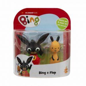 Bing Coppia Peluche Bing e Flop