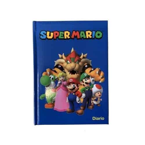 SuperMario Diario Scuola Blu