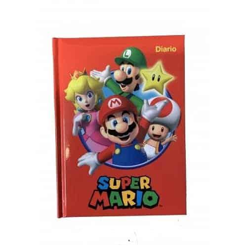 SuperMario Diario Scuola Rosso