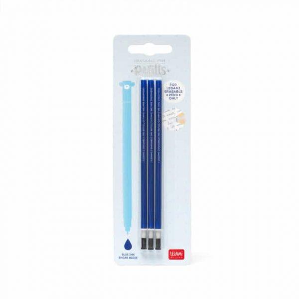Legami Refill Penna Cancellabile Inchiostro Blu