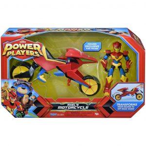 Power Players Axel's Motorcycle Giochi Preziosi