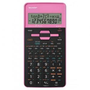 Sharp Calcolatrice Scientifica 273 Functions Rosa