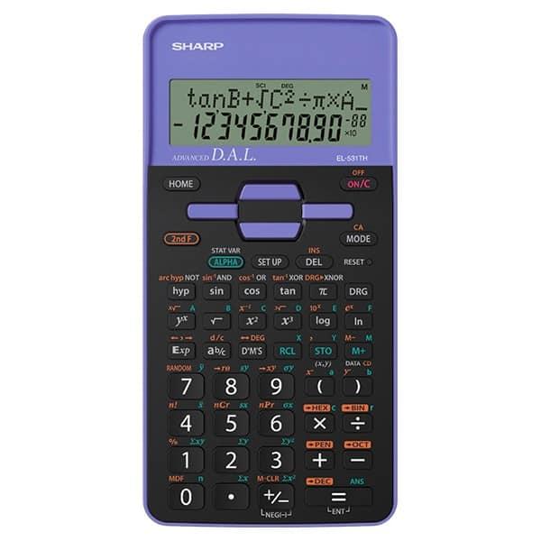Sharp Calcolatrice Scientifica 273 Functions Viola