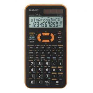 Sharp Calcolatrice Scientifica Arancione