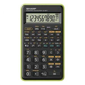 Sharp Calcolatrice Scientifica Piccola Verde