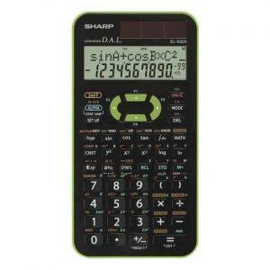 Sharp Calcolatrice Scientifica Verde