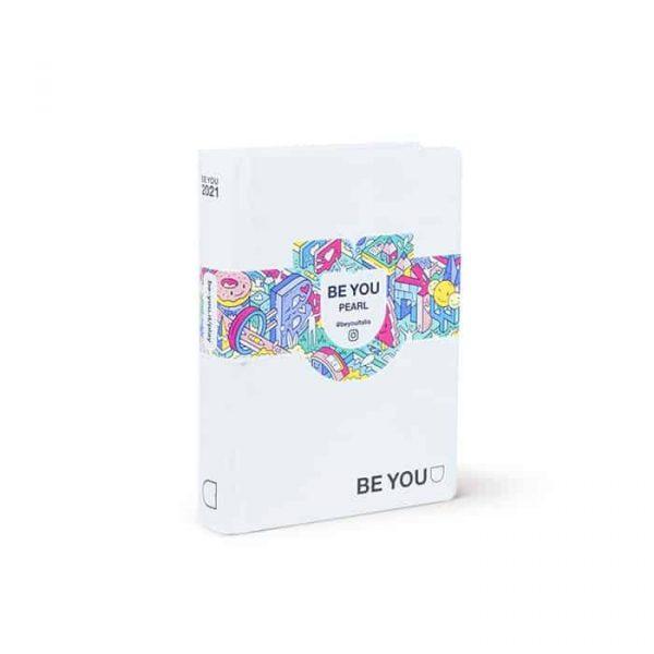 BE YOU Diario Pearl Medium 12x16x2 cm