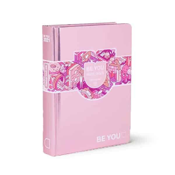 BE YOU Diario Rose Gold Big 13x18x3 cm