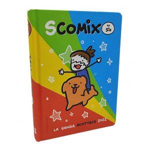 Diario SCOMIX by Sio 2021/22 16 Mesi Datato Cartonato 12x17cm Arcobaleno