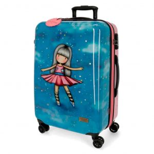Trolley Gorjuss ABS 4 Ruote 69cm Dancing Among The Stars