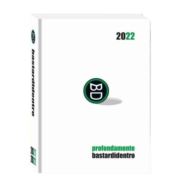 Diario BastardiDentro 2021/22 Datato 13.5x18.5cm Copertina Rigida Bianco