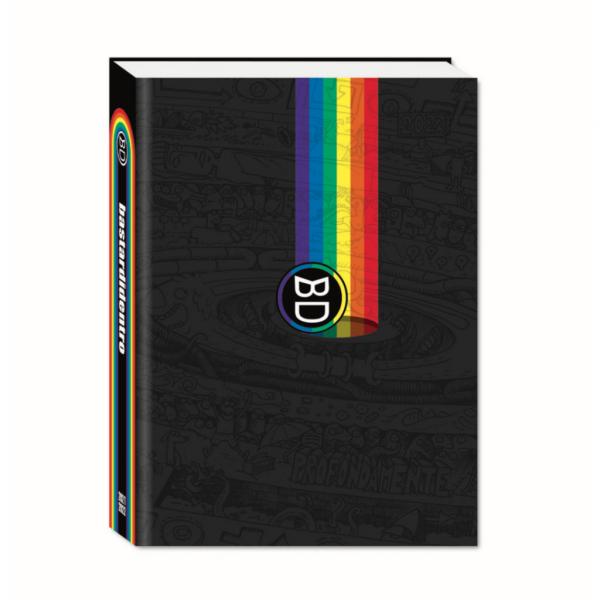 Diario BastardiDentro 2021/22 Datato 13.5x18.5cm Copertina Rigida Logo Arcobaleno