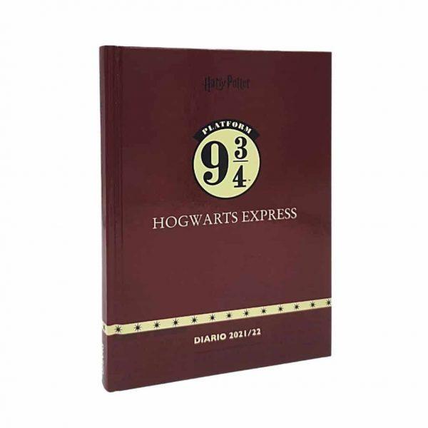 Diario harry Potter Cartonato 2022 13x17.7cm Rosso