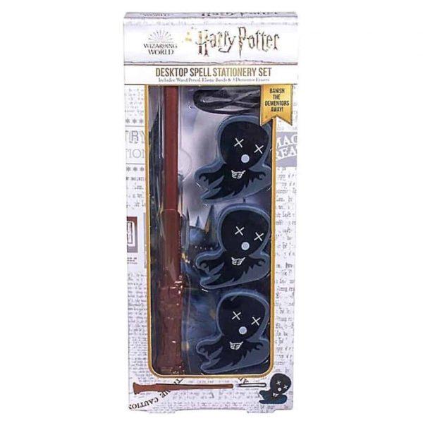 Harry Potter Set Stationery Penna/Bacchetta