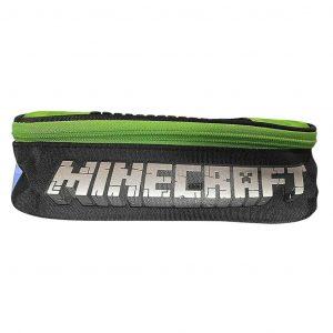 Minecraft Astuccio Ovale con Zip