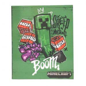 Raccoglitore ad Anelli Maxi Extra 30mm Minecraft Verde