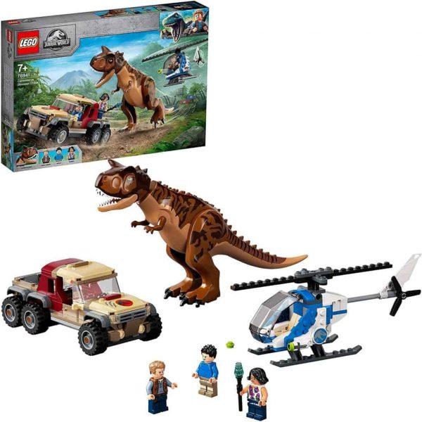 LEGO Jurassic World L'Inseguimento del Dinosauro Carnotaurus
