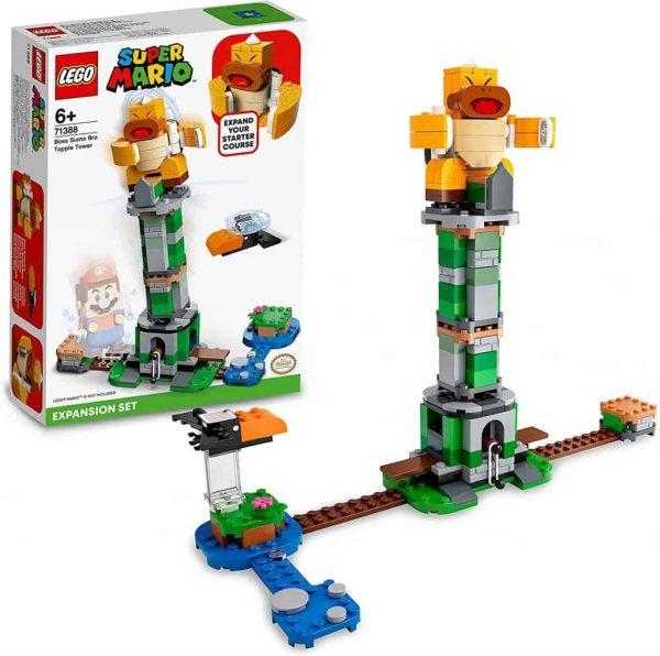 Lego SUPER MARIO Torre del Boss Sumo Bros Pack di Espansione