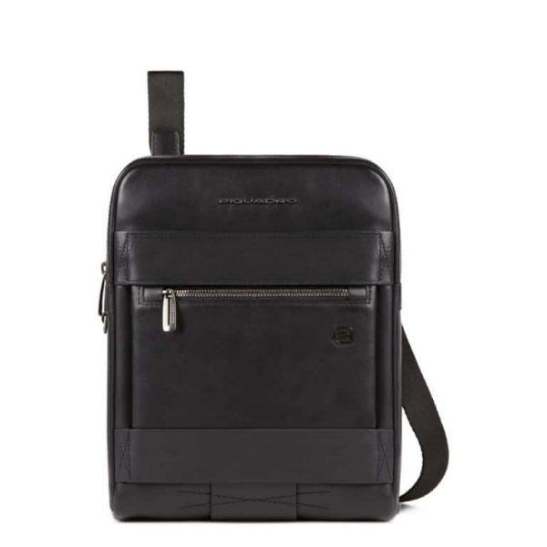 Borsello Piquadro porta iPad in pelle Obidos nero