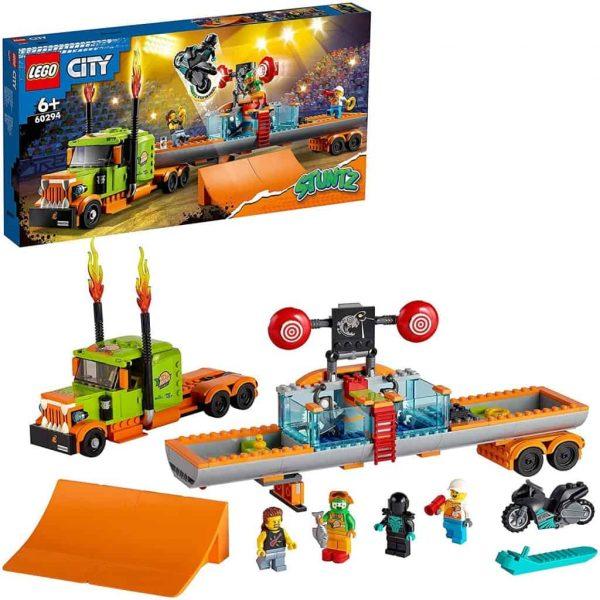 LEGO City Truck dello Stunt Show