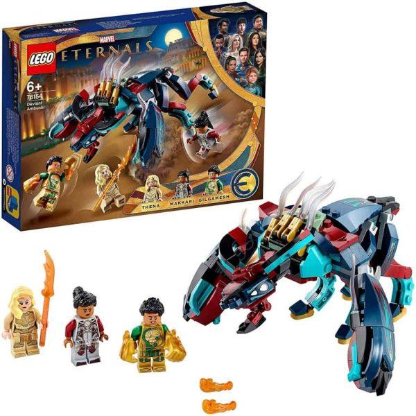LEGO Marvel L' Imboscata del Deviant!