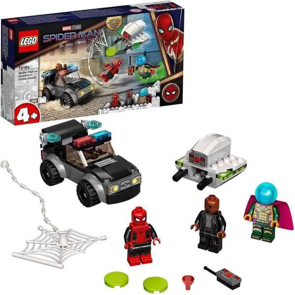 LEGO Marvel Spider-Man e l'Attacco con il Drone di Mysterio