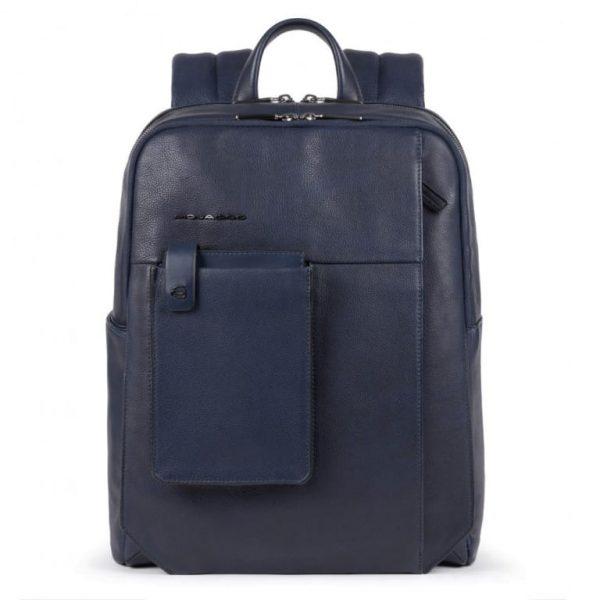 ZAINO Piquadro Porta PC e Porta Tablet con Antifurto Blu